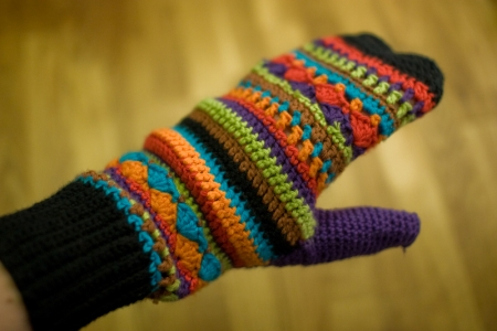 Vingerloze Handschoenen Mét Duim én Sms Flap Zolderwerk
