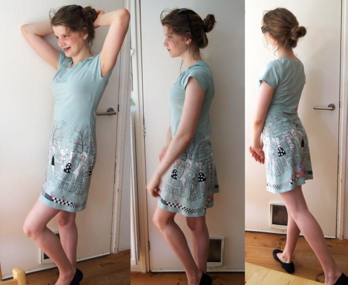 jurk maken zonder patroon